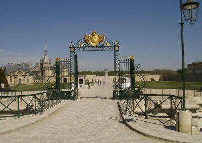 Portail du Château de Chantilly