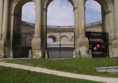 Grilles des grandes écuries au Château de Chantilly
