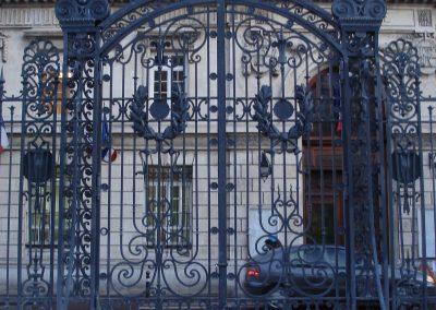 Portail du musée de Picardie Amiens