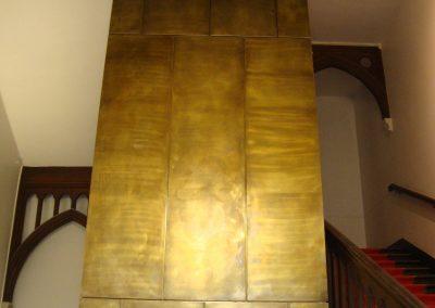 Abbaye de Royaumont – Habillage gaine d'ascenseur